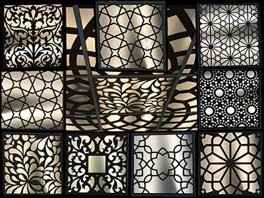 دریچه چوبی روشنایی سقفی